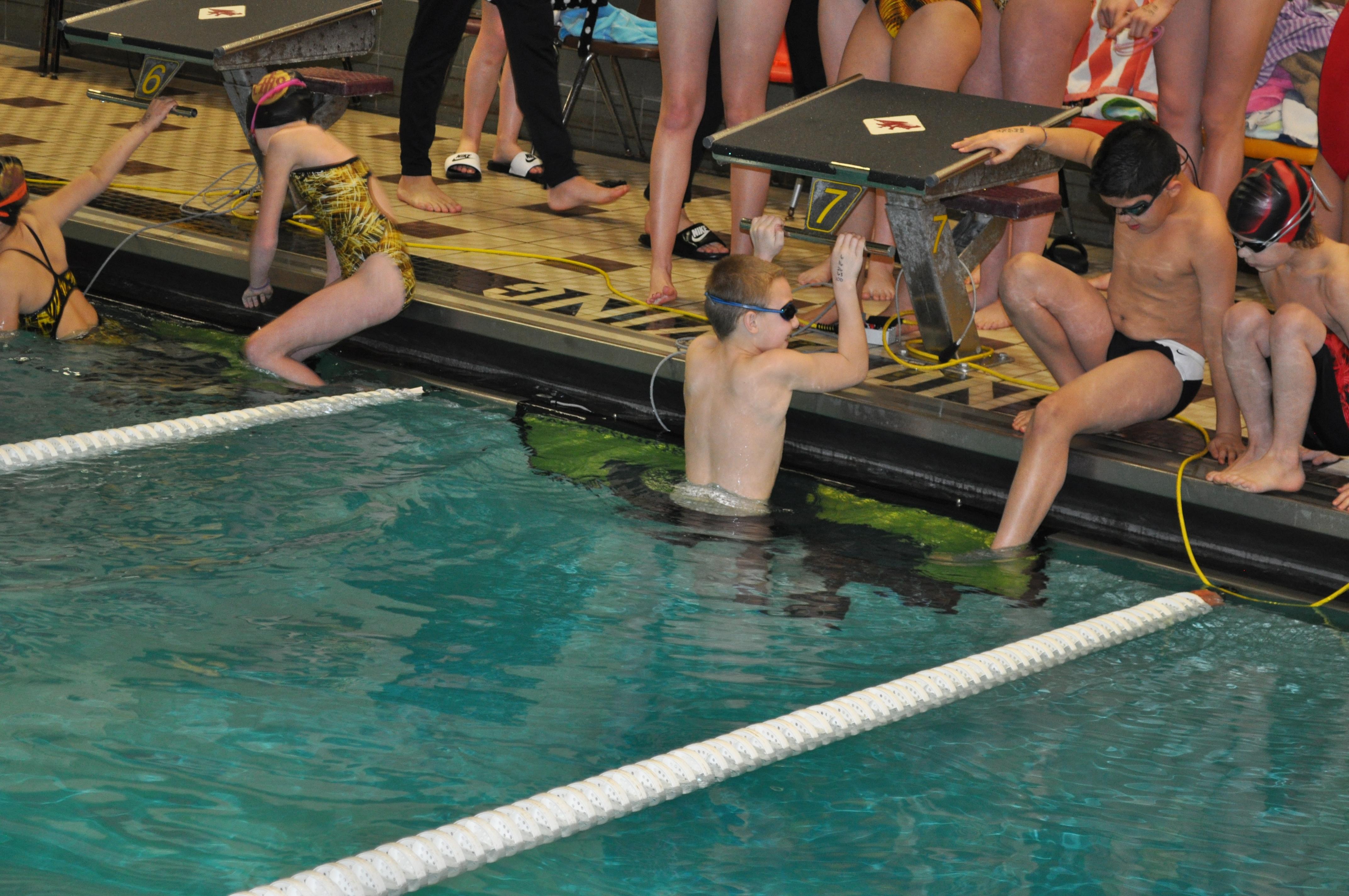 ymca state swim meet 2012 dodge