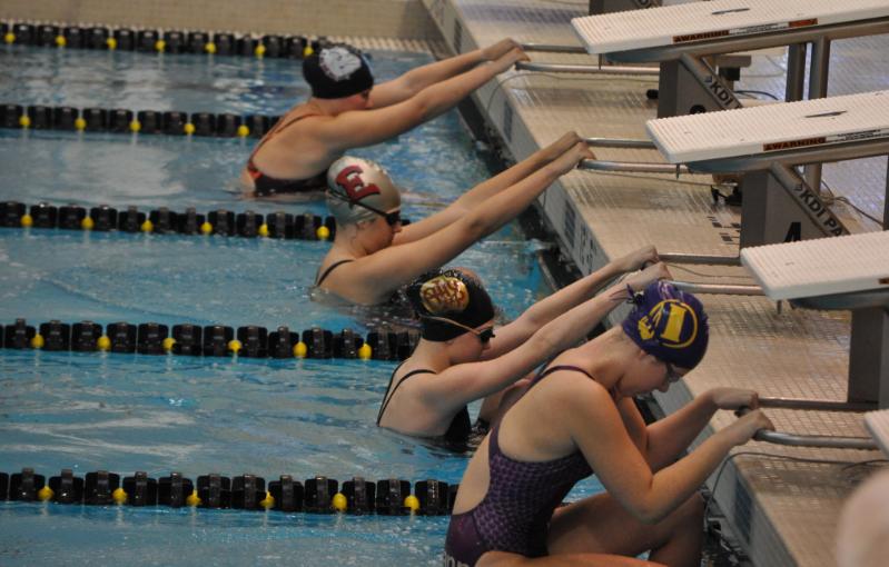 High Schoolers Swim Big At Club Meets Rails Swimming