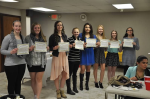 Academic Letter Winners