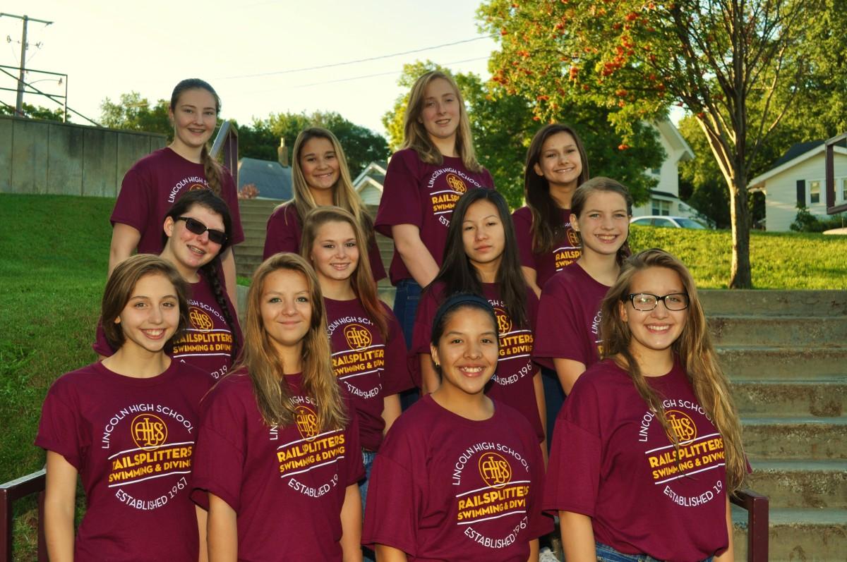 Meet The Team Freshman Rails Swimming