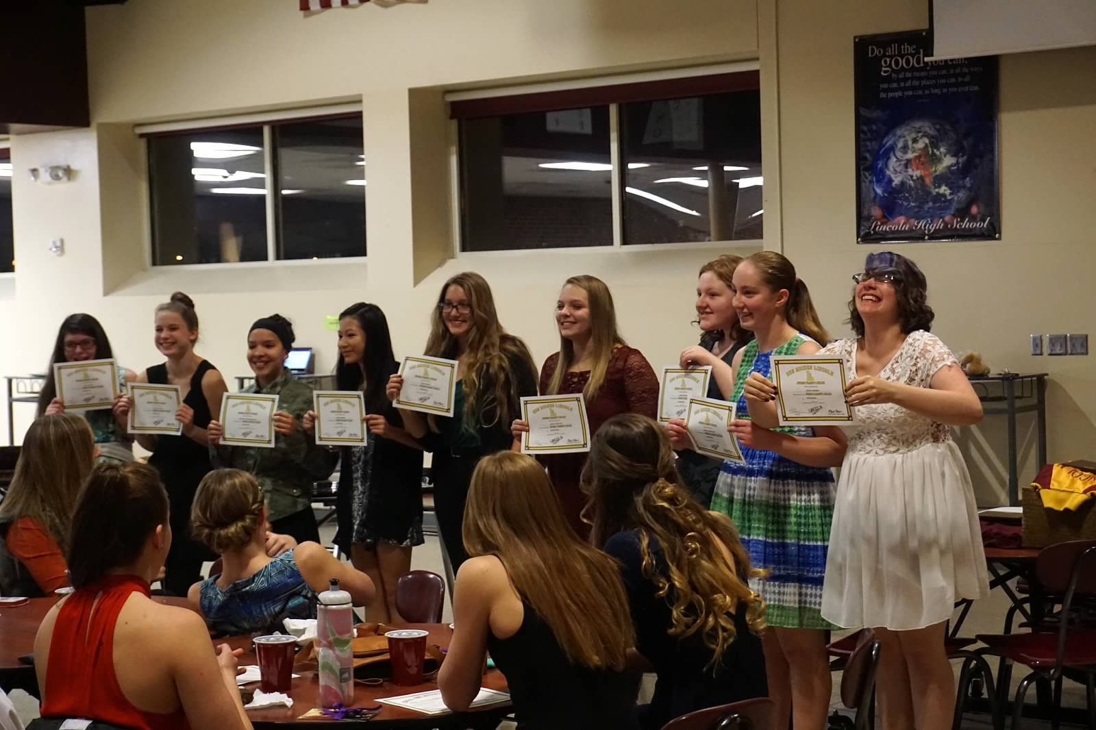 Team Banquet 1_ Junior Varisty Letter Winners